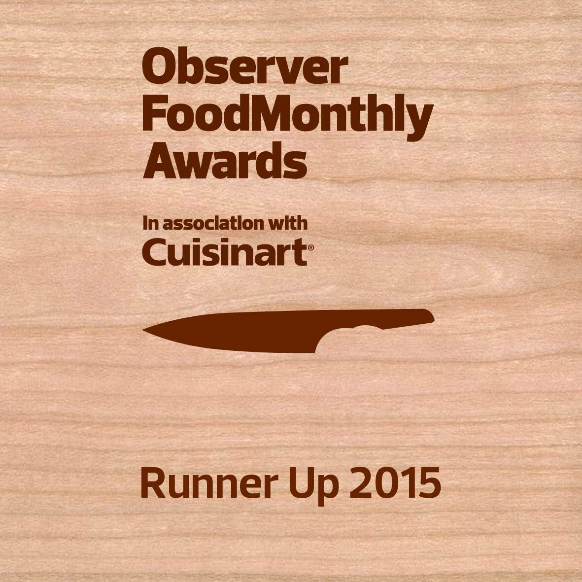 Observer Food Monthly Awards logo